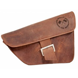 Saddle Bag / Scrambler Bag Brown
