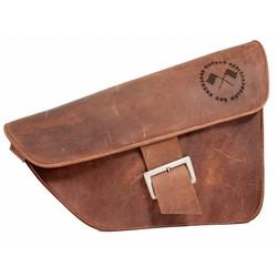 Satteltasche / Scrambler Tasche Braun