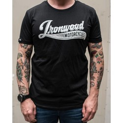 T-shirt Logo Ironwood Motorcycles noir