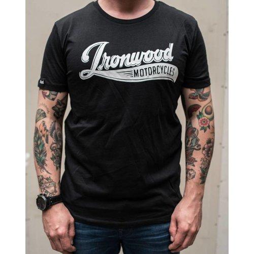 Ironwood Motorcycles Logo Tee Zwart - T-shirt