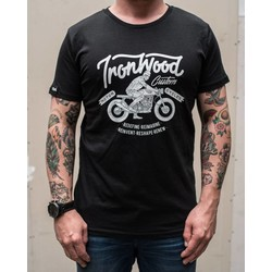 T-shirt Ride IWC noir