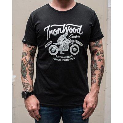 Ironwood Motorcycles Ride IWC Tee Schwartz - T-shirt