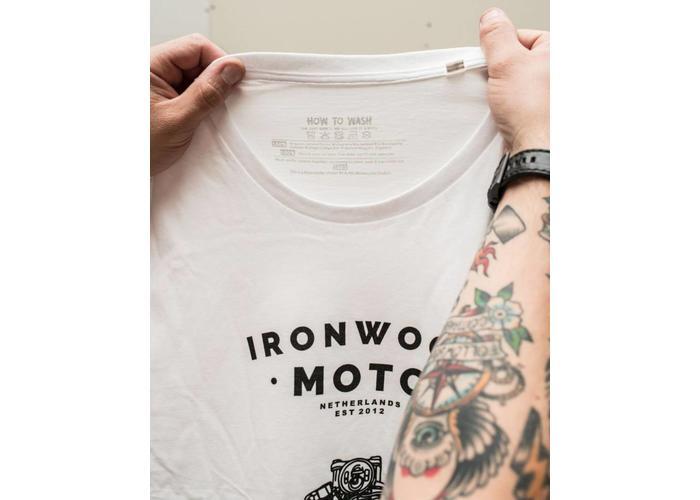 Ironwood Motorcycles Keep On Riding Wit - T-shirt