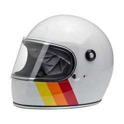 Gringo S Helm Weiß Tri-Stripe