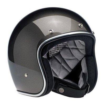 Biltwell Bonanza 3/4 Open Face Helmet Bronze Metallic