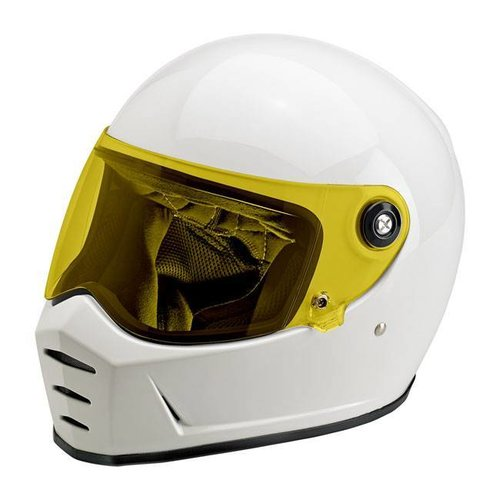 Biltwell Lane Splitter Anti Fog Visor Yellow