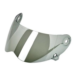 Lane Splitter Anti Fog Visor Mirror Chrome