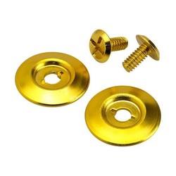 Biltwell Gringo / Lanesplitter  Kit de boutons-pression dorés