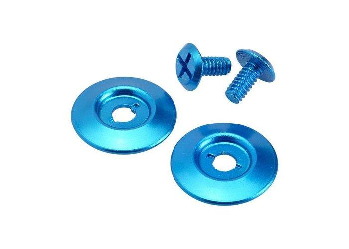 Biltwell Helm montage Set Blauw