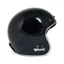 Jett Helmet Megaflake Black