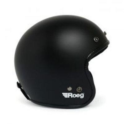 Roeg Jett helmet Matt Black
