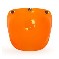 "Visière orange type ""Bulle"""