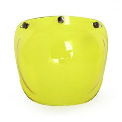 "Visière jaune type ""Bulle"""