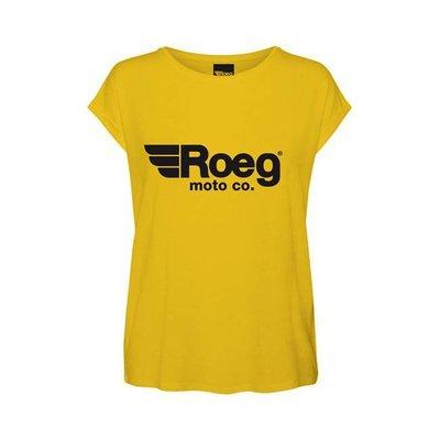 Roeg T-shirt pour femme OG TEE jaune