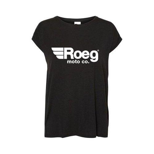 Roeg OG TEE Dames T-shirt zwart