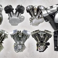 VIDEO: Harley Engine Through the Years