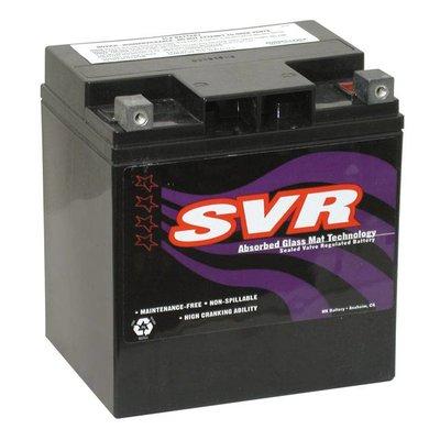 SVR 400CCA AGM Batterie. 12V, 30 AM FLT / Touring