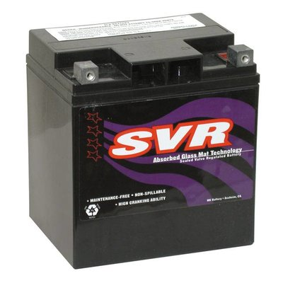 SVR 400CCA  AGM Battery. 12V, 30AM FLT / Touring