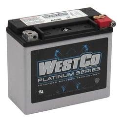 310CCA AGM Batterie, 12V, 18AMP XL, VRSC, Softail, Buell, Dyna