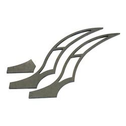 280 - 320MM Kit d'accessoires pour garde-boue arrière Stiletto - Long
