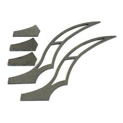 320MM Kit d'accessoires pour garde-boue arrière Stiletto - Long