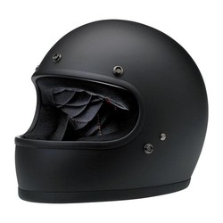 Gringo Helmet Flat Black ECE Approved
