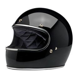 Gringo helm Gloss Black ECE goedgekeurd