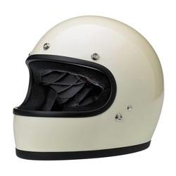Gringo Helm Gloss Vintage Weiß ECE zertifiziert