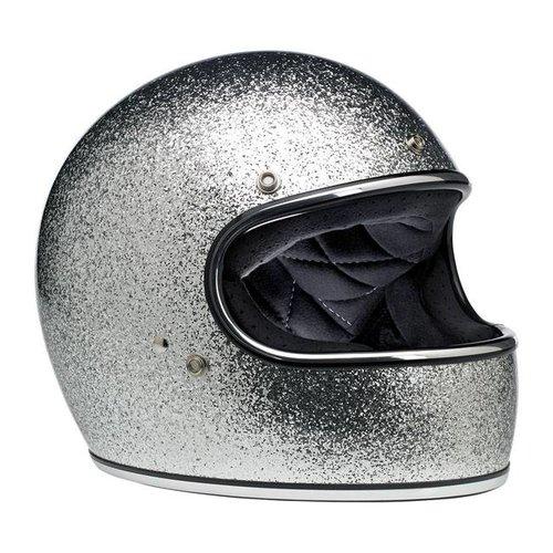 Biltwell Gringo helm Brite Silver MF ECE goedgekeurd
