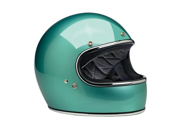 Biltwell Gringo helm Sea Foam ECE goedgekeurd