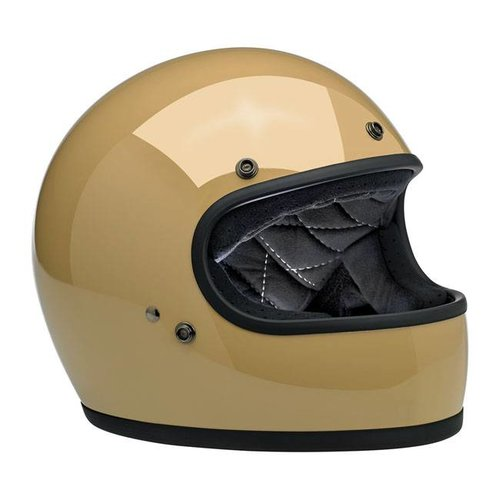 Biltwell Gringo helm Gloss Coyote Tan ECE goedgekeurd