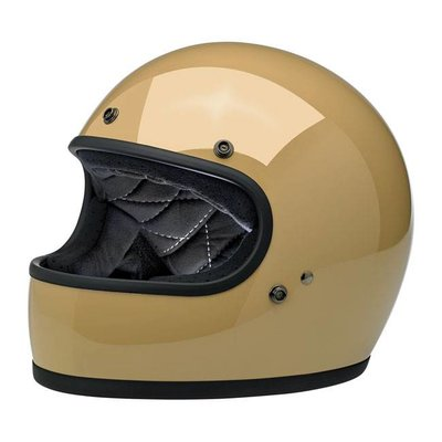 Biltwell Gringo Helmet Gloss Coyote Tan ECE Approved