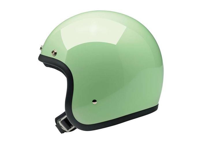 Biltwell Bonanza 3/4 Open Face Helmet Gloss Mint