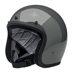 Bonanza 3/4 Open Face Helm Gloss Storm Grau