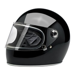 Gringo S helm Gloss Black  ECE goedgekeurd