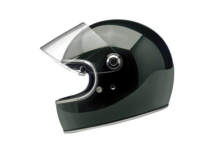 Biltwell Gringo S helm  Gloss Sierra Green ECE goedgekeurd