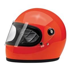 Gringo S Helm Gloss Hazard Orange ECE zertifiziert