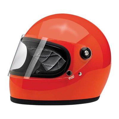 Biltwell Gringo S helm Gloss Hazard Orange ECE goedgekeurd