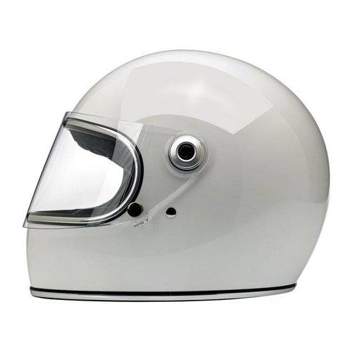 Biltwell Gringo S helm Gloss White ECE goedgekeurd