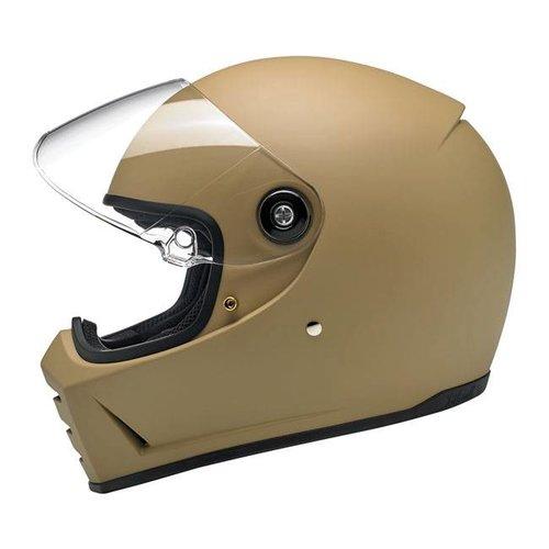 Biltwell Lane Splitter helm Flat Coyote Tan ECE goedgekeurd