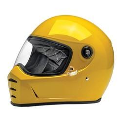 Lane Splitter Helmet Gloss Safe-T Yellow ECE Approved