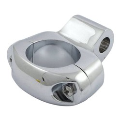 "Universal Handlebar clamp 1 ""Chrome"