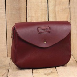 Womens Satchel kersenrood
