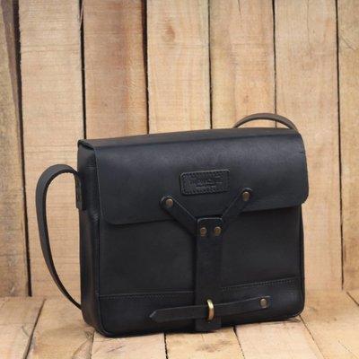 Trip Machine Messenger Bag - Black