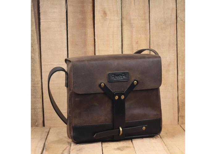 Trip Machine Messenger Bag - Tobacco