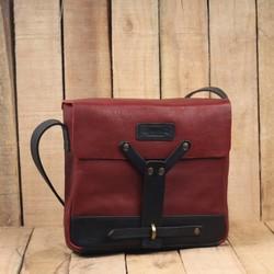 Messenger Bag - Cherry Red