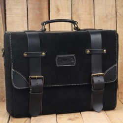 Hybrid Saddlebag - Black + Black
