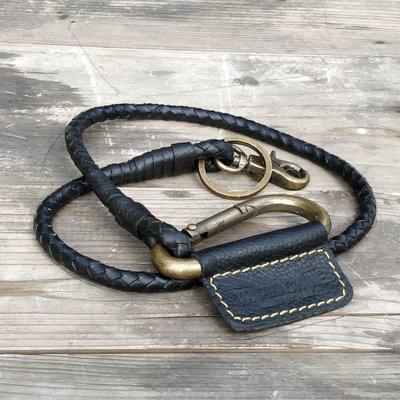 Trip Machine Braided Key Chain - Black