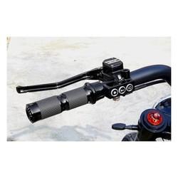 RR90 Kit de leviers hydrauliques noir mat Dyna/Softail