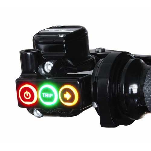 Rebuffini RR90 Handle en Schakelaar Set Mechanisch Zwart